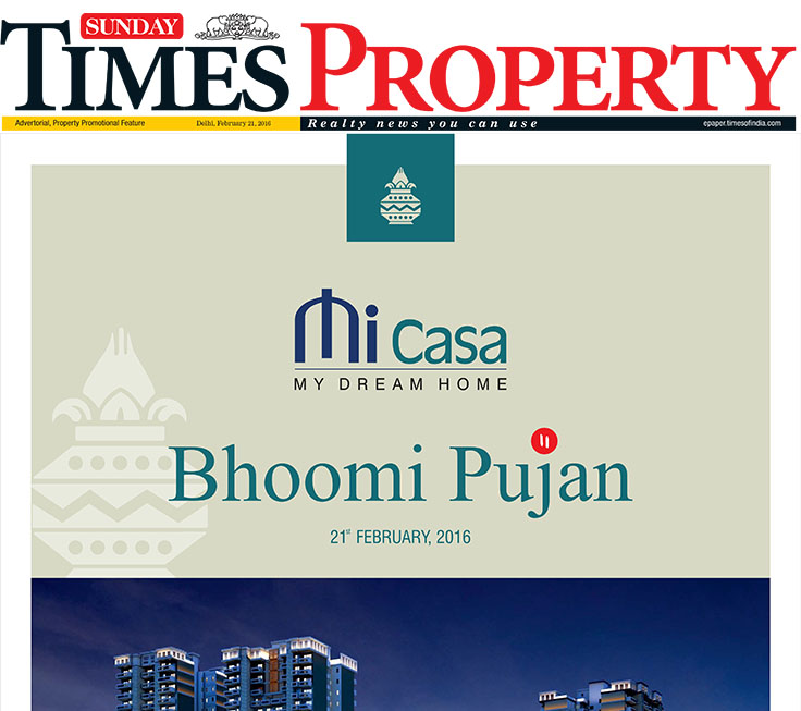 Sunday Times Property on 21st February 2016